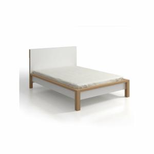 Dvoulůžková postel z borovicového dřeva SKANDICA InBig, 140x200cm
