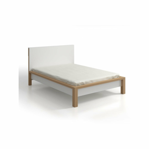 Dvoulůžková postel z borovicového dřeva SKANDICA InBig, 160x200cm