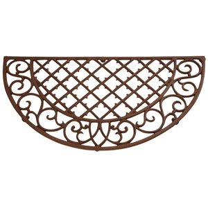 Litinová rohožka EsschertDesign Picnic, šířka 67,5 cm
