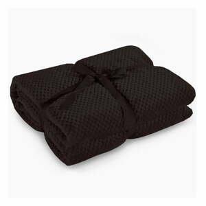 Černá deka z mikrovlákna DecoKing Henry, 220x240cm