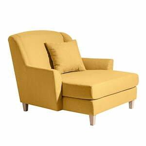 Žluté křeslo Max Winzer Judith