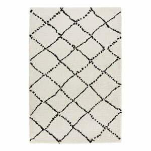 Béžovo-černý koberec Mint Rugs Hash, 80x150cm