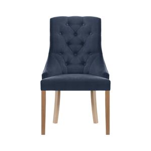 Modrá židle Jalouse Maison Chiara