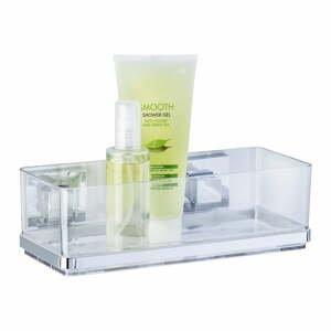 Samodržící polička na kosmetiku Wenko Vacuum-Loc Shelf,nosnost až33kg