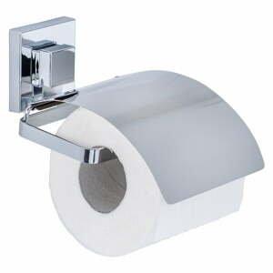 Samodržící držák na toaletní papír Wenko Vacuum-Loc, 14 x 13 cm