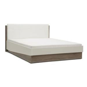 Bílá dvoulůžková postel Mazzini Beds Dodo, 160x200cm