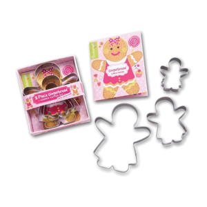 Sada 3 vykrajovátek Cooksmart ® Gingerbread Girl