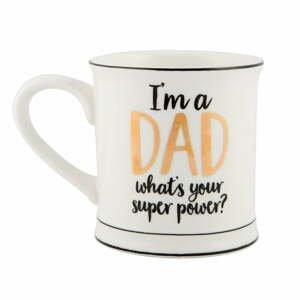 Porcelánový hrnek Sass & Belle Super Dad, 400ml