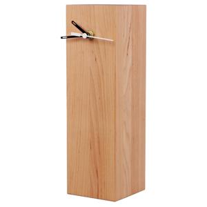 Stolní hodiny z olšového dřeva Nørdifra Blocks