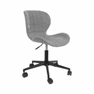 Šedá kancelářská židle Zuiver OMG