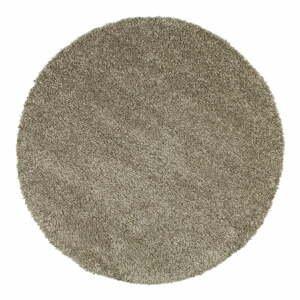 Šedý koberec Universal Aqua Liso, ø80cm