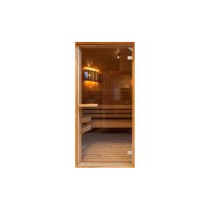 Tapeta na dveře v roli Bimago Sauna, 90x210cm