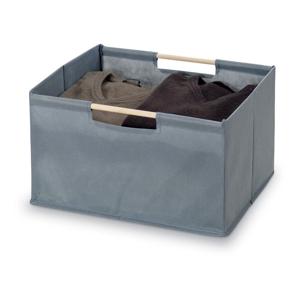 Šedý úložný box Bonita Basket, malý