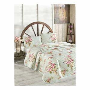 Přehoz přes postel na dvoulůžko s povlaky na polštáře Alanur,200x220cm