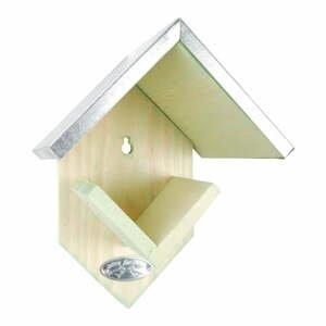 Nástěnné krmítko z borovicového dřeva Esschert Design, výška19,5cm