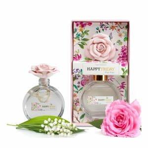 Difuzér s vůní růžové růže HF Living, 190 ml