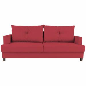 Červená rozkládací třímístná pohovka Melart Lorenzo