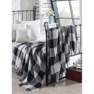 Bavlněný lehký přehoz přes postel Dama, 200 x 240 cm