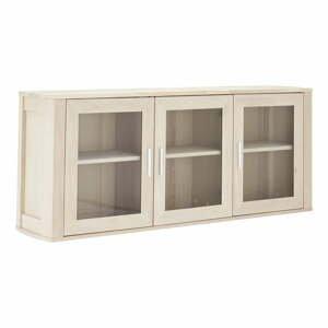 Dubová nástěnná skříňka se 3 dvířky Furnhouse Paris