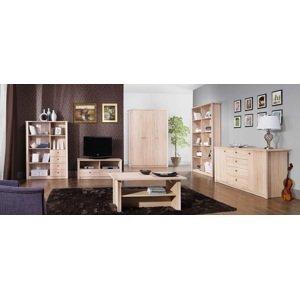Maridex Obývací stěna FINEZJA 2 Maridex Barva: dub-sonoma-cokolada