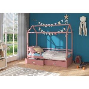 Dětská postel se zábranou 200x90 cm Madge