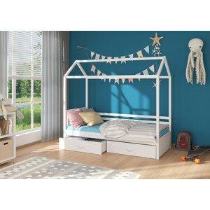 Dětská postel domeček Madge 90x200 cm