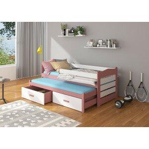 Dětská postel 80x200 cm Zeya se zábranou