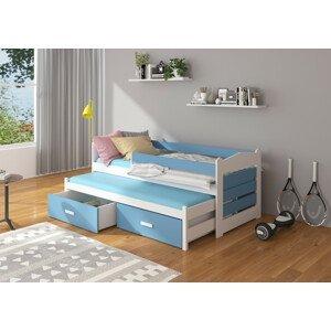 Postel pro děti Zeya 90x200 cm se zábranou