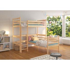 Dětská patrová postel Coudy 80x180 cm