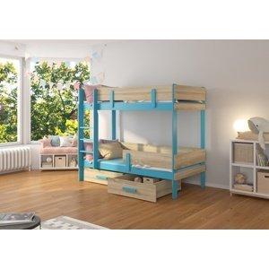 Dvoupatrová postel dětská 80x180 cm Carey