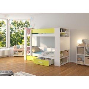 Patrová dětská postel 90x200 cm Quinn