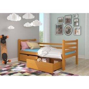 Nízká dětská postel Elsie 90x200 cm
