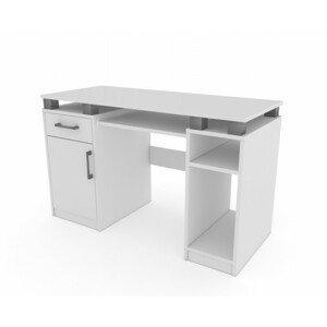 Moderní kancelářský počítačový stůl 120 cm široký mnoho barev