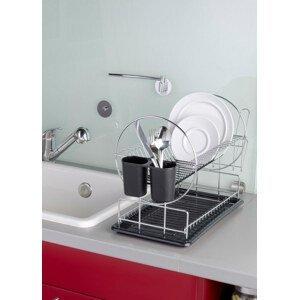 Dvoupatrový odkapávač na nádobí