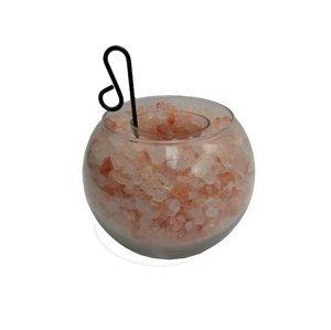 Marimex Svícen solný - miska s drcenou solí - 12cm - orange - 11105754