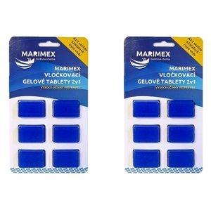 Marimex Vločkovací gelová tableta 2v1 Marimex - sada 2ks - 19900070
