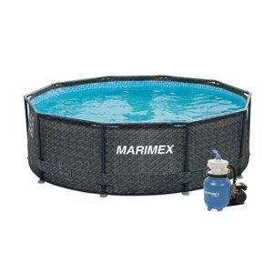 Marimex Bazén Florida 3,05x0,91 m s pískovou filtrací - motiv RATAN - 19900079