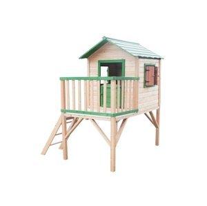 Marimex Dětský dřevěný domeček Stáj s platformou - 19900107