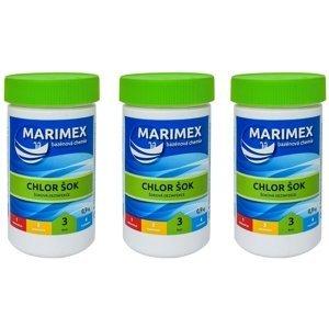 Marimex Marimex Chlor Šok 0,9 kg - sada 3 ks - 19900133