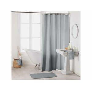 Sprchový závěs CAMILA světle šedá 180x200 cm MyBestHome