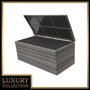 Box na polstry 170 x 90 cm BORNEO (šedá)