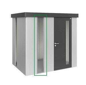 Biohort Panel z akrylového skla k domečku Biohort NEO (stříbrná metalíza)