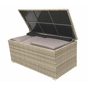 Box na polstry SEVILLA 164 x 82 cm (béžová)