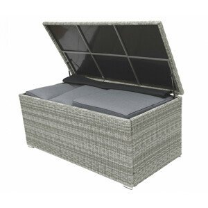 Box na polstry SEVILLA 164 x 82 cm (šedá)