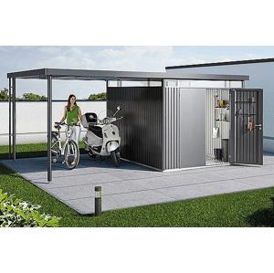 Biohort Postranní střecha Biohort pro HighLine H2 282 x 195 (tmavě šedá metalíza)