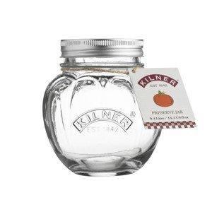 Kilner ozdobná zavařovací sklenice ve tvaru rajčete, 400 ml