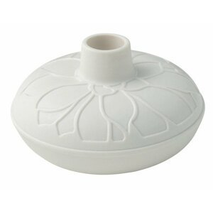 Villeroy & Boch it's my home porcelánový svícen sukulent, bílý