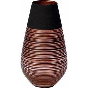 Villeroy & Boch Manufacture Swirl skleněná váza, 18 cm