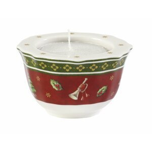 Villeroy & Boch Toy´s Delight svícen na čajovou svíčku, červený