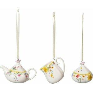 Villeroy & Boch Spring Awakening velikonoční závěsná dekorace, 3 ks